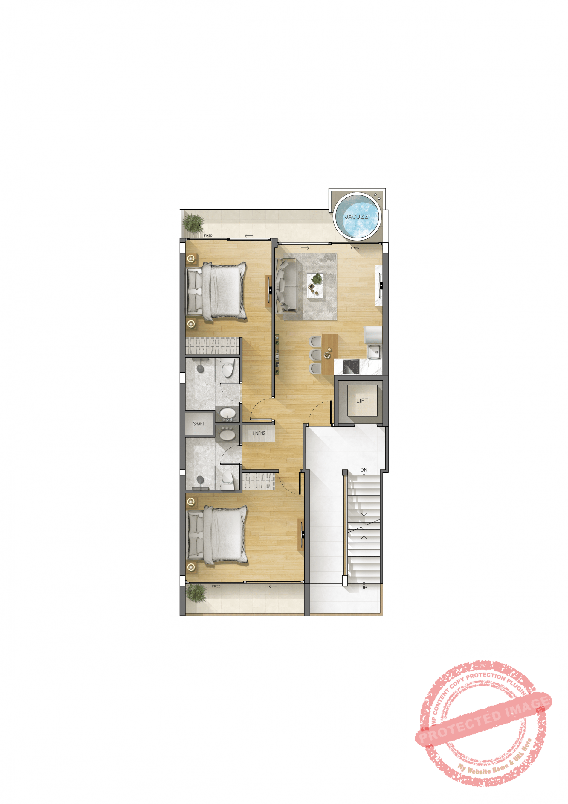 2nd floor apartment
