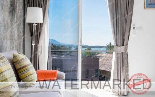 super clean penthouse at Bangrak Koh Samui for rent