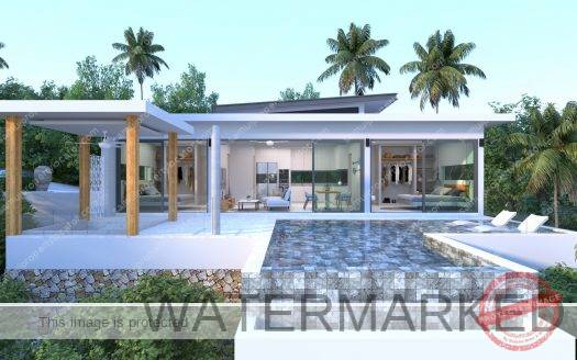 Novel sea view 2 bedroom villa
