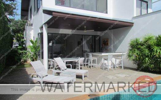 3 bedroom duplex villa for Sale Koh Samui