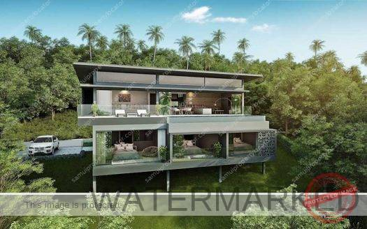 Contemporary 3 bed villas