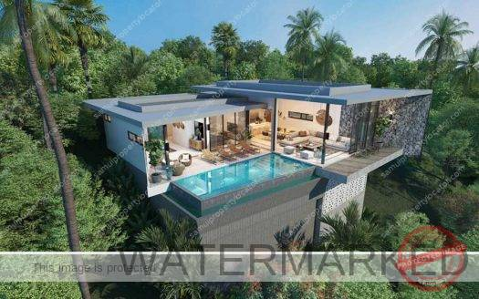 Bophut villa for sale off-plan