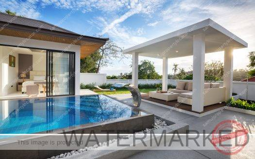 Single level Bali Villa for Sale Koh Samui