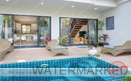 3 bedroom chic Villa Nailia for sale Choeng Mon Koh Samui