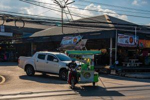 Bophut Market entrance Koh Samui Thailand