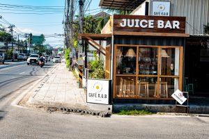 King of Bread Juice bar on ring road Bophut Koh Samui