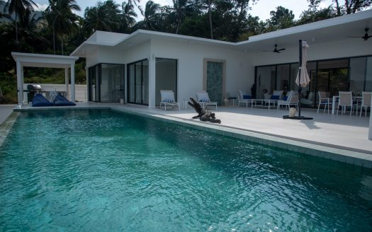 modern 4 bed villa
